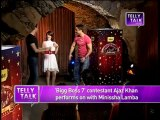 Bigg Boss - 3rd December 2013 : Ajaz Khan PERFORMS with Minissha Lamba