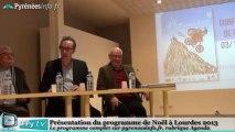 [LOURDES] Le programme de Noël à Lourdes 2013 (3 décembre 2013)