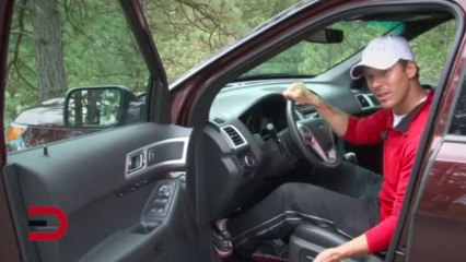 2012 Ford Explorer Car Review on Everyman Driver with Dave Erickson