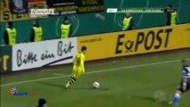 DFB Pokal: Saarbrucken 0-2 Borussia Dortmund (all goals - highlights - HD)
