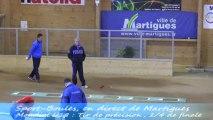 Tir de précision, quarts de finale, Sport Boules, Mondial U18 Martigues 2013