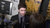 Daniel Radcliffe gets naked: Actor jokes about nude scenes
