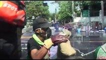 Bangkok (Thailande) 02-12-2013 RUSH RIOTS FRONT LIGNE 2