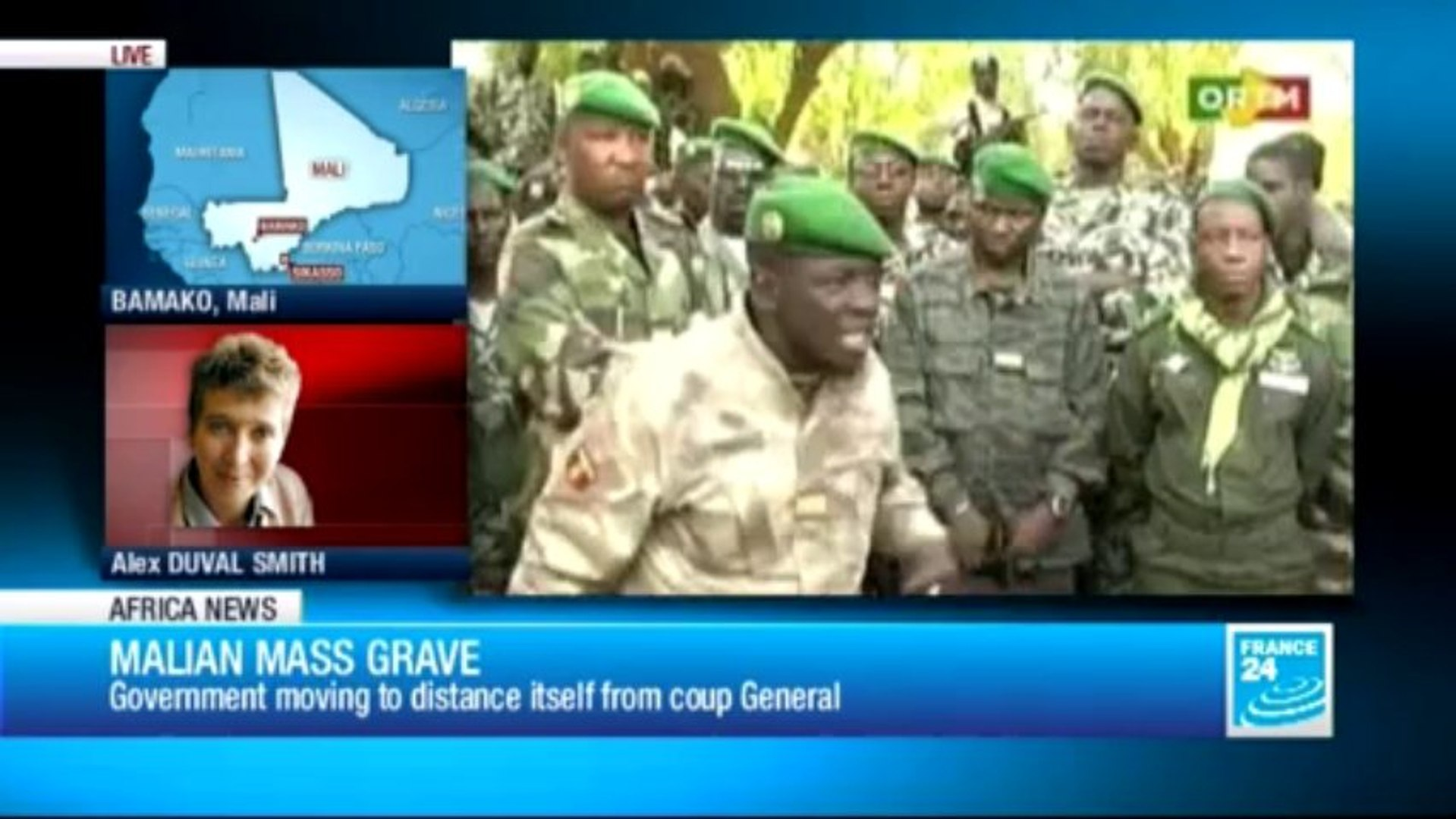 AFRICA NEWS - Bodies of Mali counter-coup soldiers found in mass grave