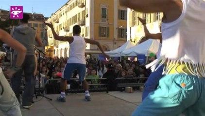 Téléthon 2013 : Zumba géante place Garibaldi à Nice (06)