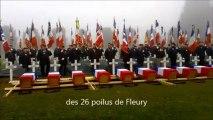 Les poilus de Fleury inhumés à Douaumont
