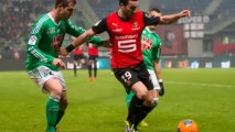 Ligue 1: Rennes s'impose contre Saint-Etienne (3-1)