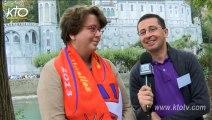 Rassemblement des familles spirituelles à Lourdes : Témoignage de Noémie et Stéphane