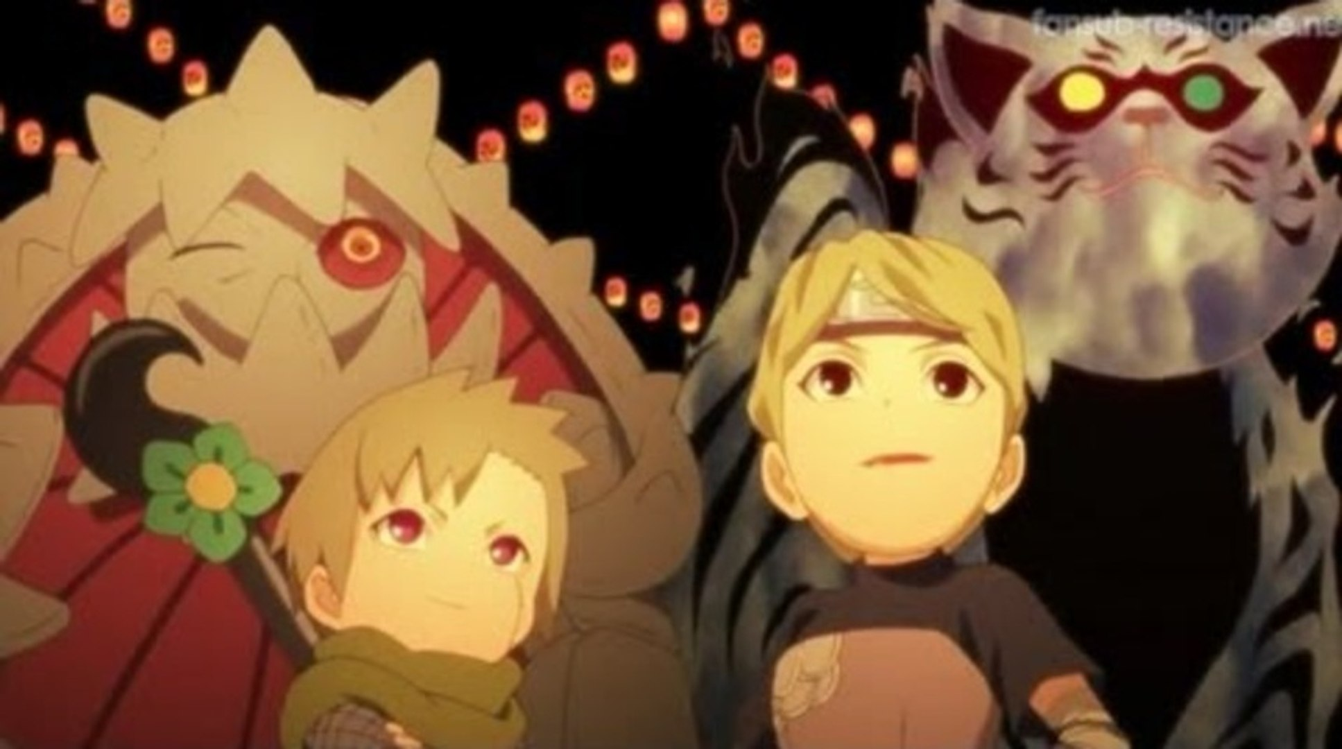 Naruto shippuden : La comptine des bijuu (HD)