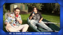 Les 10 chaînes YouTube francophones les plus populaires