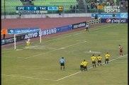 Gol de Edder Farias de Penalty(Caracas) Vs Tachira (2-0)