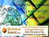 How to get1 Penny website host at host gator