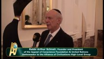 Rabbi Arthur Schneir, Founder and President of the Appeal of Conscience Foundation & United Nations Ambassador to the Alliance of Civilizations High-Level Group