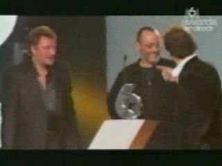 "Johnny Hallyday ""Quelques cris"""