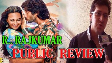 R Rajkumar Public Review - Shahid Kapoor and Sonakshi Sinha