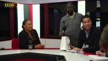 """Kaina Tv, invitée par le réseau """"Presse et Cité"""" est partie au Sénat à la rencontre Christiane Taubira, ministre de la Justice."""