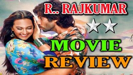 R Rajkumar Movie Online Review - Shahid Kapoor and Sonakshi Sinha