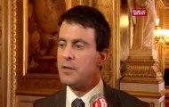 Valls veut «insécuriser» les terroristes, après quatre interpellations liées à une filière jihadiste