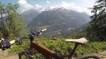 VTT enduro freeride Valais avec Exoride