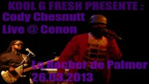 Cody Chesnutt Live @ Cenon Le Rocher De Palmer 26.03.2013 Thank You So Much (Final)