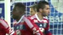 But Yassine BENZIA (56ème) - SC Bastia - Olympique Lyonnais - (1-3) - 08/12/13 (SCB - OL)