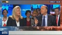 BFM Politique: L'interview de BFM Business, Pierre Moscovici répond aux questions de Hedwige Chevrillon - 08/12 2/6