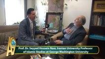 Prof. Dr. Seyyed Hossein Nasr, Iranian University Professor of Islamic Studies at George Washington University