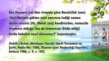 Cübbeli Ahmet Hoca Hz. İsa (as)'ın Nüzulünün Mütevatir Hadislerle Sabit Olduğunu Anlatıyor