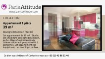 Appartement Studio à louer - Boulogne Billancourt, Boulogne Billancourt - Ref. 6432