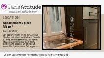 Appartement Alcove Studio à louer - Batignolles, Paris - Ref. 8116