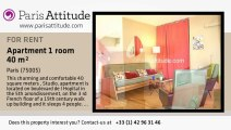 Studio Apartment for rent - Jardin des Plantes, Paris - Ref. 6735
