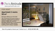 1 Bedroom Apartment for rent - Boulogne Billancourt, Boulogne Billancourt - Ref. 3312