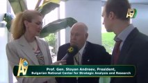 Prof. Gen. Stoyan Andreev, President, Bulgarian National Center for Strategic Analysis and Research