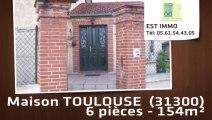 A vendre - maison - TOULOUSE  (31300) - 6 pièces - 154m²
