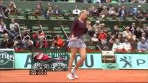 Roland Garros 2010 3rd Round Highlight Maria Sharapova vs Justine Henin