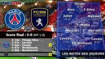 PSG 5-0 Sochaux : les notes des Parisiens