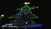 En Italie, Gubbio allume le plus grand arbre de Noël du monde