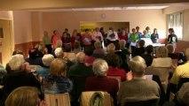 Téléthon 2013 : Chorale à Milhaud (30)
