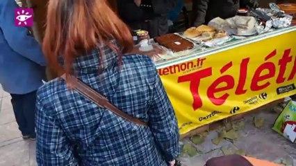 Téléthon 2013 : Vente de gâteaux à Pamiers (09)