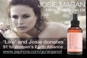 "Josie Maran for ""Josie Maran Argan Oil"" Ad campaign presented by Sephora (2011)"
