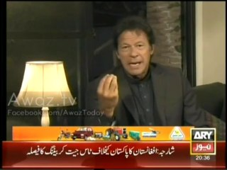 Sawal Yeh Hai (Imran Khan Exclusive) - 8th December 2013