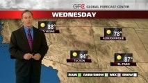 Southwest Forecast - 12/08/2013