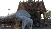 Big Buddha, Wat Klang Bang Phra in Nakhon Pathom Thailand