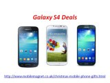 Best Christmas Mobile Offers on iPhone 5S Deals, iPhone 5C Deals, Galaxy S4 Deals