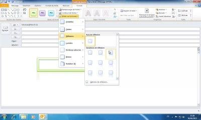 Formation Outlook | Ajouter une forme dans un email