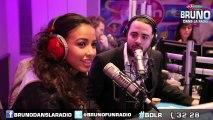 Flora Coquerel, Miss France 2014, était chez Bruno dans la Radio !!