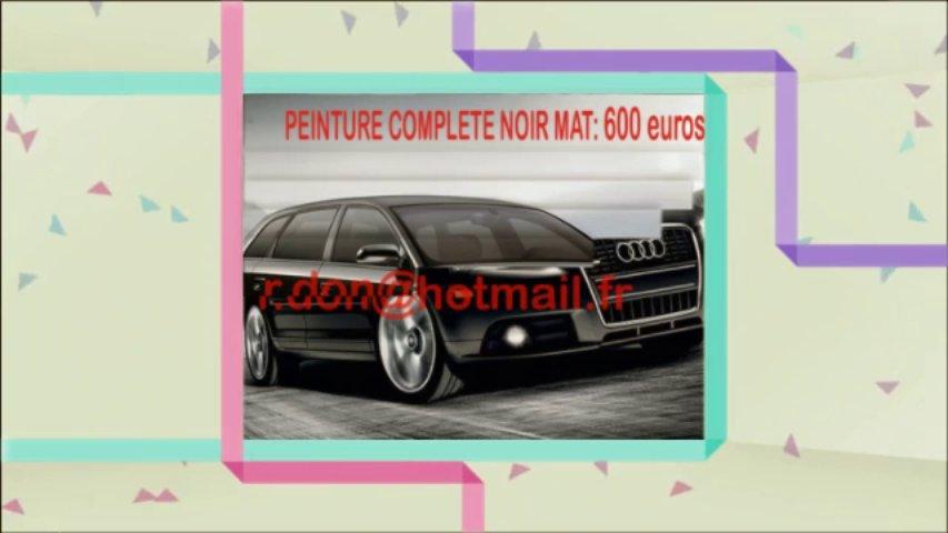 Audi A3 noir mat, Audi A3 noir mat, Audi noir mat, Audi A3 Covering noir mat, audi A3 peinture noir mat, Audi A3 noir mat