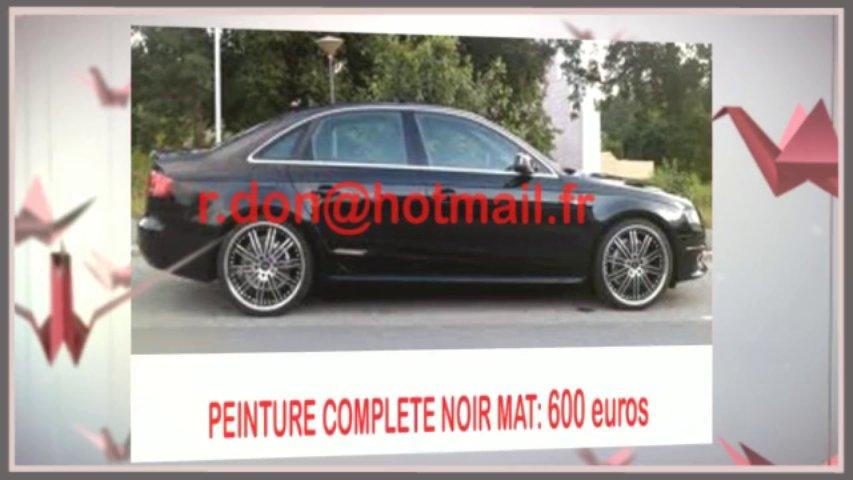 Audi A4 noir mat, Audi A4 noir mat, Audi noir mat, Audi A4 Covering noir mat, audi A4 peinture noir mat, Audi A4 noir mat