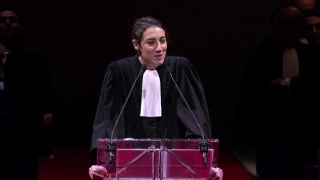 RENTREE 2013 : Discours de Constance Debré, 2e secrétaire de la Conférence