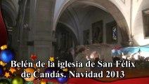 Belén de San Félix de Candás, Asturias. Navidad 2013